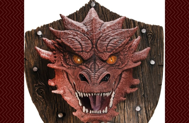Awesome Smaug Wall Hunting Trophy
