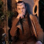 LOTR Hobbit Elrond Elf Cosplay Costume