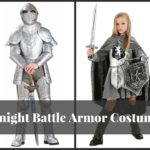 Knight Battle Armor Costume for Adults and Kids
