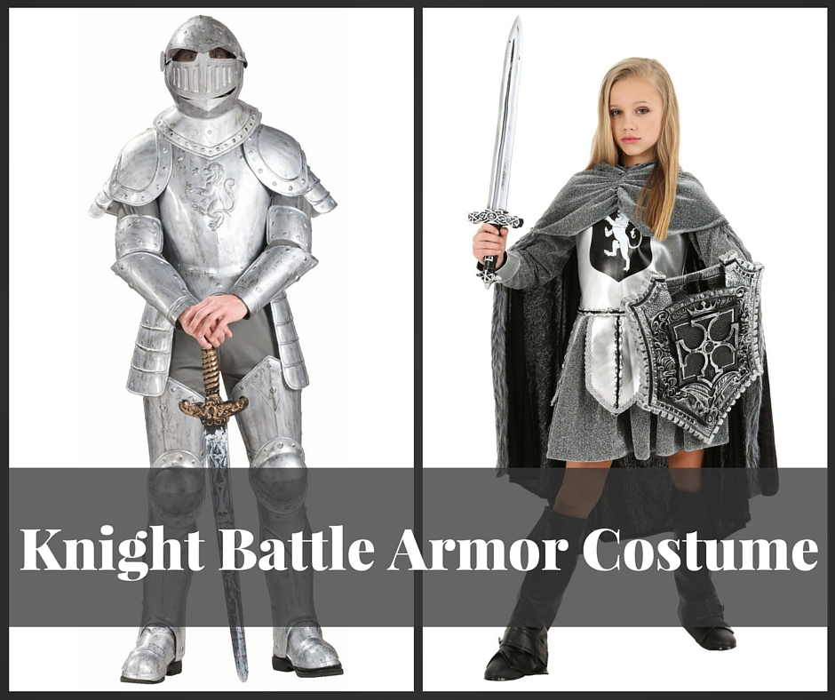 Knight Battle Armor Costume for Adults and Kids  sc 1 st  Hobbit Feet & Knight Battle Armor Costume