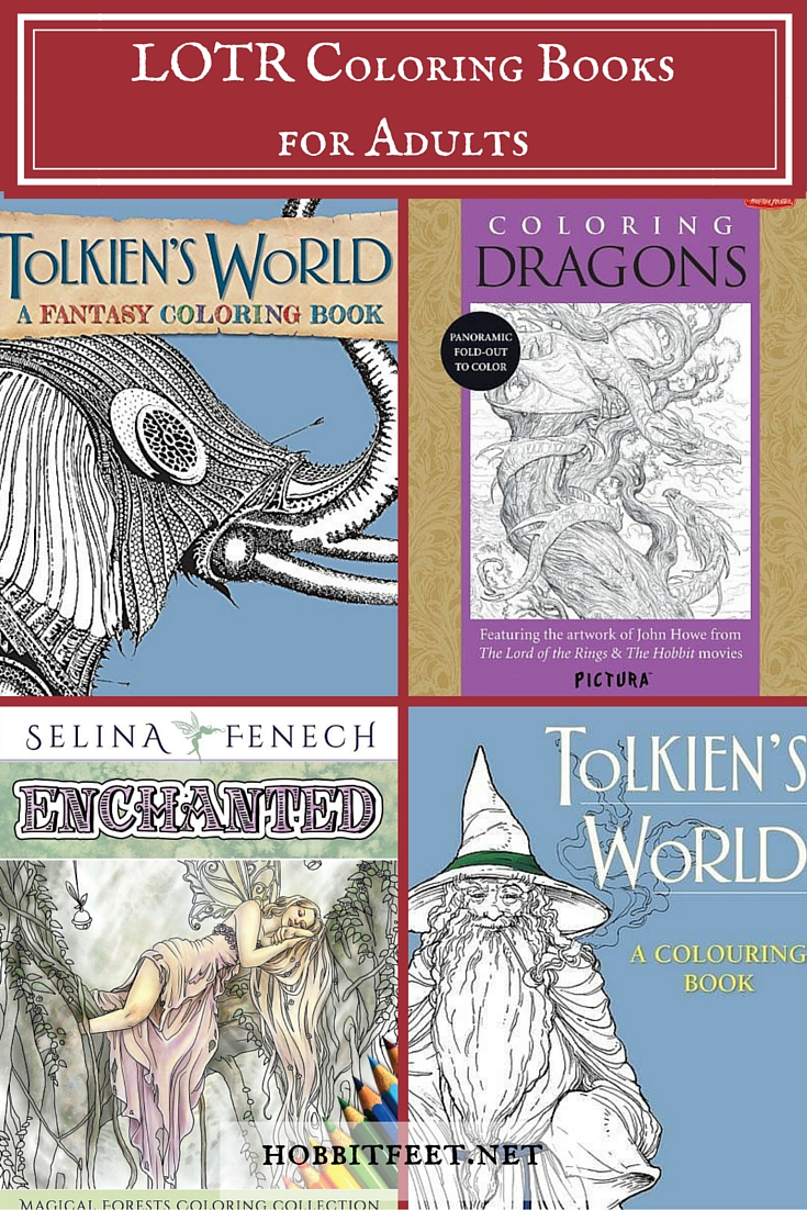 LOTR Coloring Books for Adults