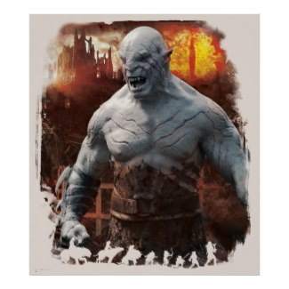 Azog the Defiler licensed poster