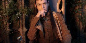 LOTR Hobbit Elrond Elf Cosplay Costume