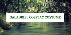 Galadriel Cosplay Costume