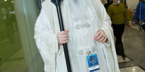 LOTR Hobbit Saruman White Wizard Cosplay Costume