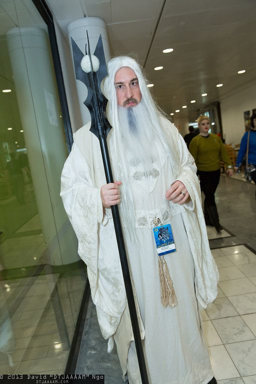 Saruman Cosplay Costume  sc 1 st  Hobbit Feet : white wizard costume  - Germanpascual.Com